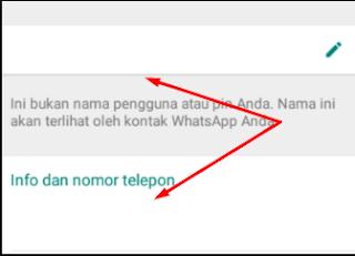 Cara Menciptakan Nama Kosong Whatsapp Dengan Mudah
