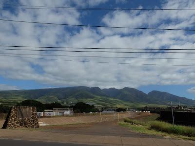 マウイ島の山