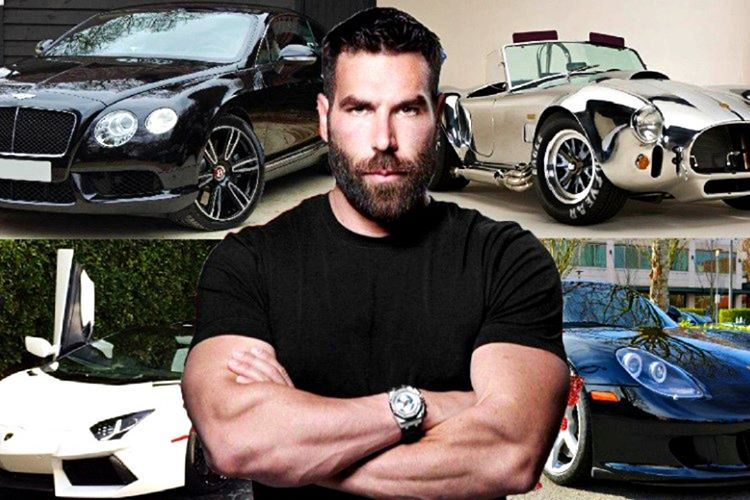 Dan Bilzerian milyon dolarlık arabalardan oluşan büyük bir koleksiyona sahip.