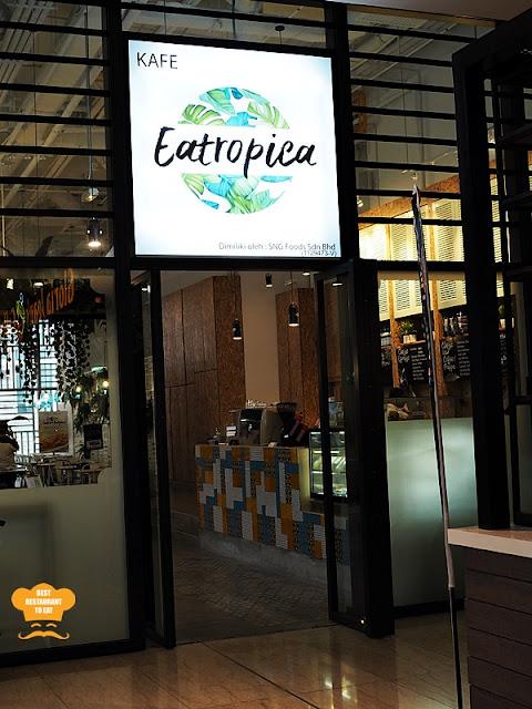 Eatropica Cafe Menara 1 Sentrum Nu Sentral Brickfield Kuala Lumpur
