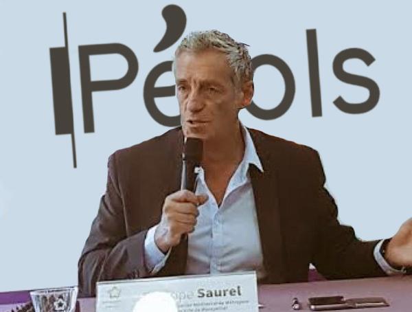 Philippe Saurel à Pérols