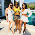 Photo of the day! DJ Tira in Spain with 2 cuties ladies