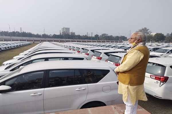 haryana-cm-manohar-lal-review-dia-100-600-vehicle-news