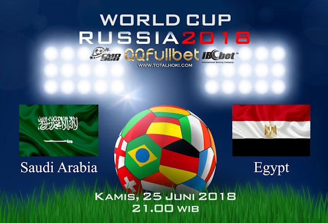 BOLA88 - PREDIKSI BOLA PIALA DUNIA : SAUDI ARABIA VS MESIR 25 JUNI 2018 ( RUSSIA WORLD CUP 2018 )