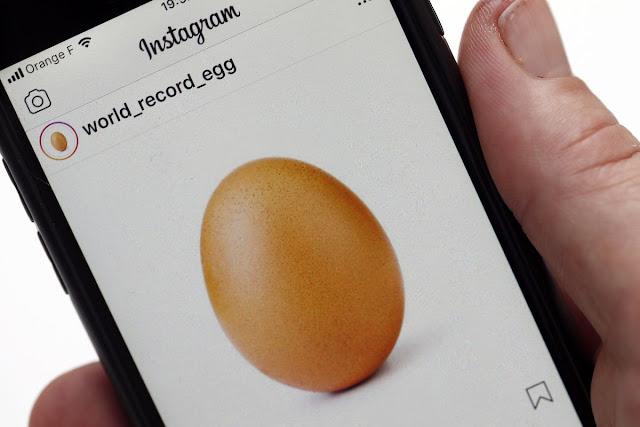 Gambar Telur Pemegang Rekod Likes Terbanyak Di Instagram
