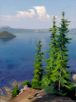 Crater Lake by Rob Rey - robreyfineart.com