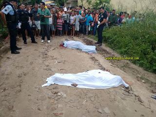 Acidente com duas vitimas fatais em Guaraciaba do Norte.