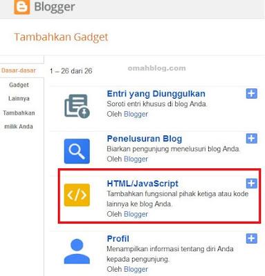 Membuat Tombol Share Media Sosial Pada Blogger