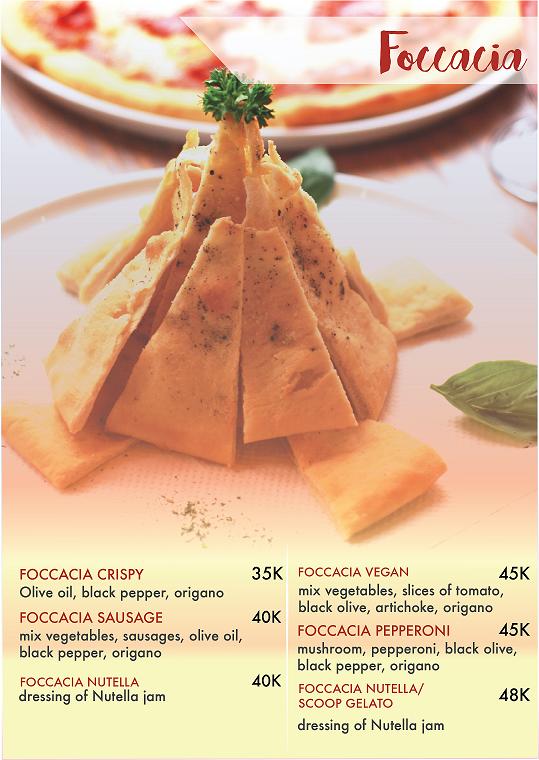 ciao gelato gejayan menu harga