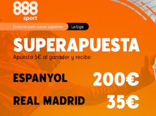 Superapuesta 888sport Espanyol v Real Madrid 28-6-2020