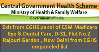 cghs-delhi-hospital-list-of-exit-of-csm-medicare-eye-dental-care