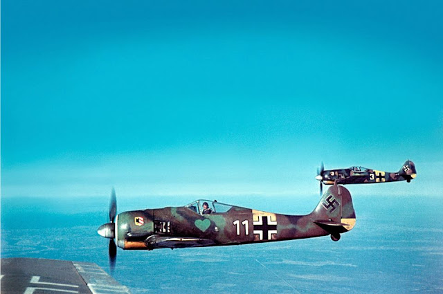 Focke-Wulf Fw 190A-5 fighters, Planes in color worldwartwo.filminspector.com