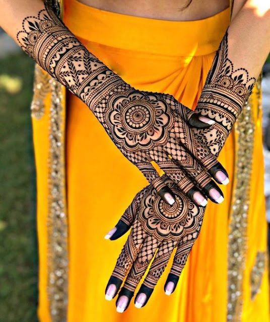 50 Latest Simple Bridal Mehndi Designs Best Dulhan Mehndi
