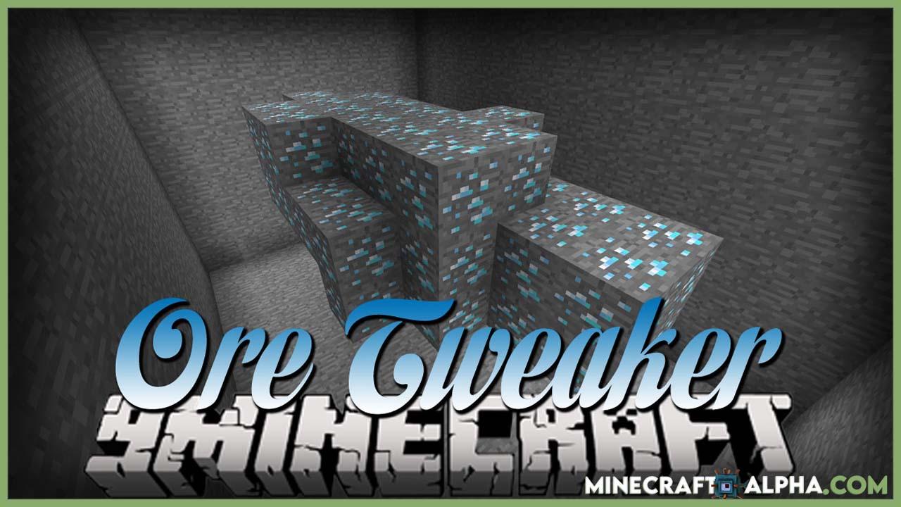 Minecraft Ore Tweaker Mod 1.17.1 (Tweak Vanilla Ore Generation)