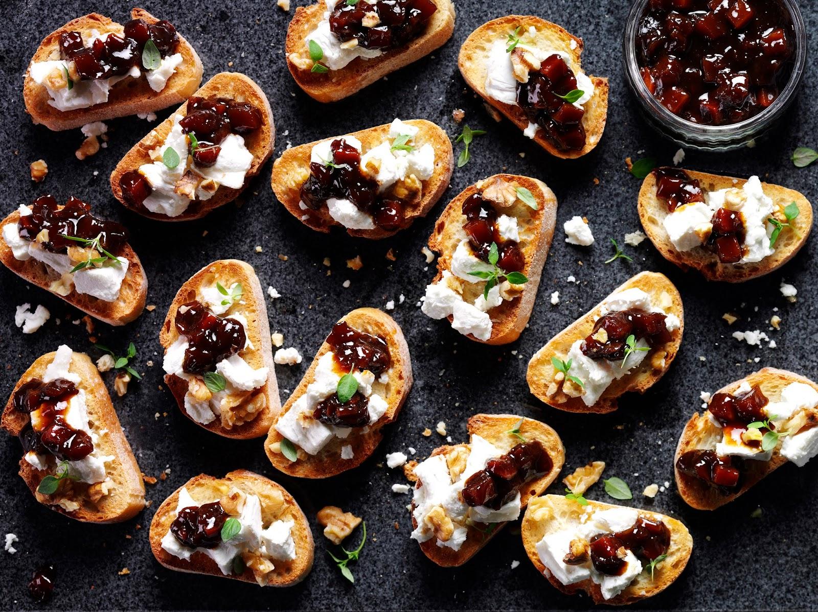 7 Canape Ideas: Christmas Party Food Ideas