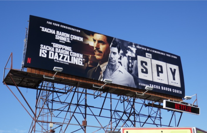 Spy FYC billboard