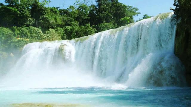 Para llegar a las Cascadas de Agua Azul, por Tuxtla Gutiérrez, tome la carretera que conduce a San Cristóbal de las Casas y de ahí diríjase con rumbo a Palenque; antes de llegar a esta ciudad, encontrará el desvío que lo llevará a este maravilloso atractivo natural.