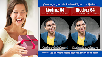 ¡DESCARGA GRATIS LA REVISTA DE AJEDREZ DIGITAL!
