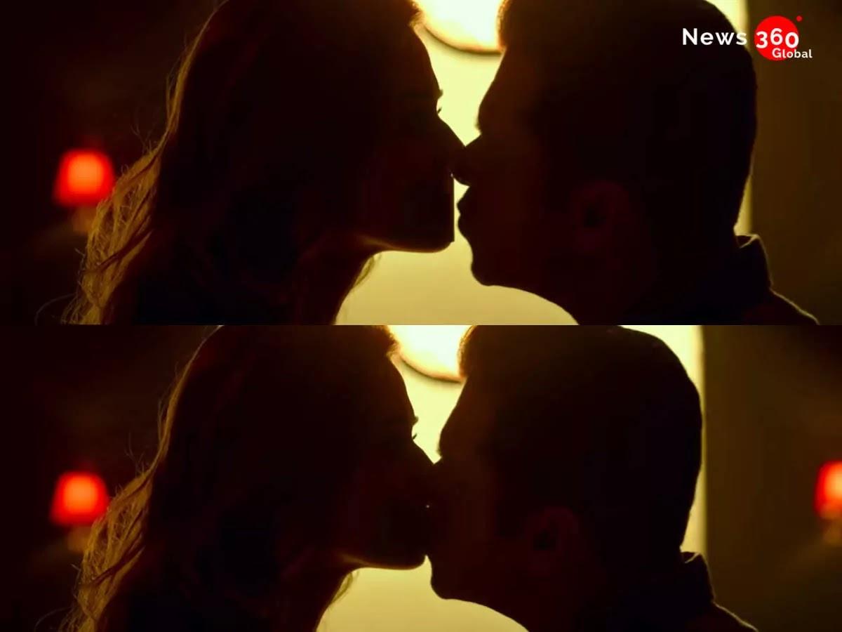 'Radhe' the kissing scene of Salman Khan and Disha Patani, Bhaijaan opened the poll