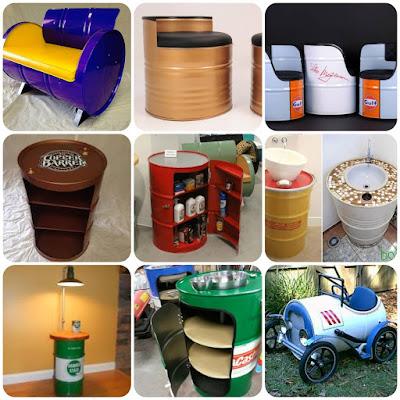 Ideas para reciclar tanques de acero