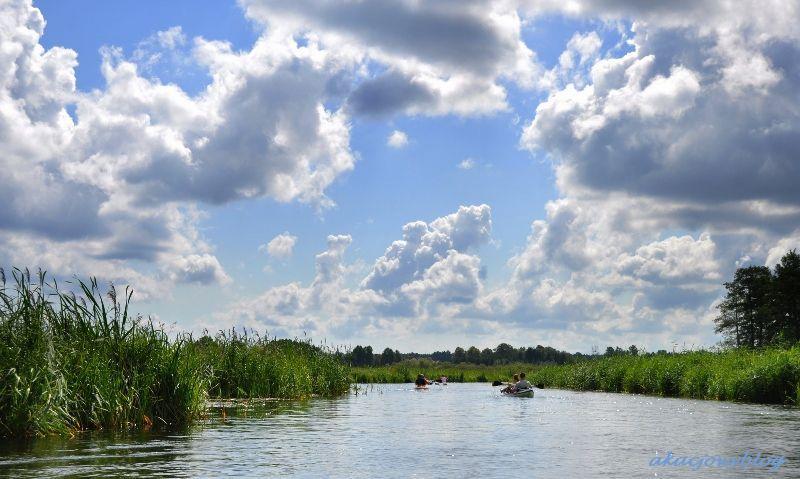 Mazury - okolice Krutynia.