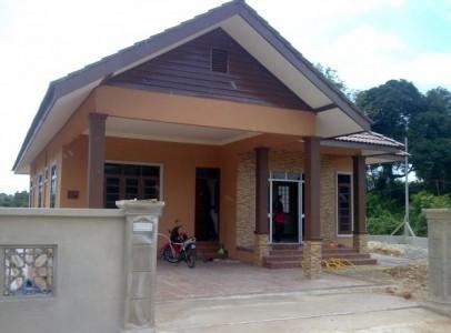 gambar rumah sederhana kampung
