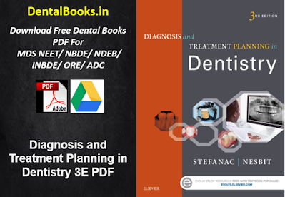 Diagnosis and Treatment Planning in Dentistry 3E PDF DOWNLOAD