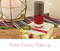 Vernis à ongles rouge intense Boho Green Make up