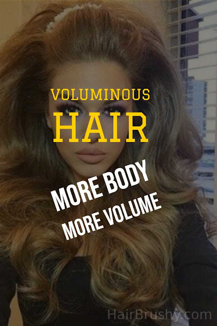 Voluminous hair