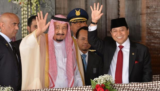 Pidato di DPR, Raja Salman: Terima Kasih atas Sambutan Luar Biasa