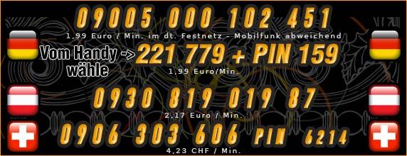 telefonsexnummern von türkischen frauen für Deutschland, Österreich und Schweiz