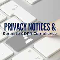 Don't Overlook Privacy Notices in Your Sprint to GDPR Compliance