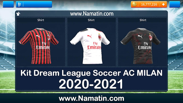 kit dream league soccer ac milan