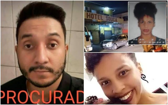 Resultado de imagem para preso homem que matou mulher em quarto de hotel no tirirical