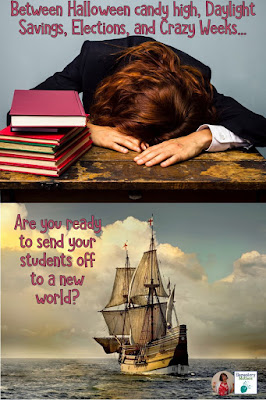 Are you ready to ship your students off to a New World? It's a tough time of year! Time to pull all the stops out and try some super fun, engaging activities. (Shh... don't tell them they're still learning!)