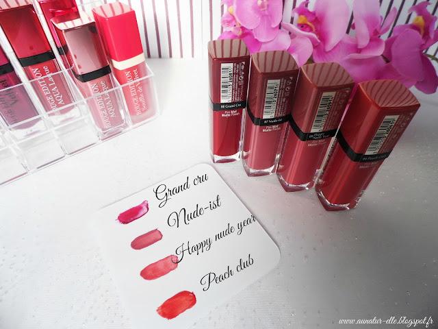 rouge à lèvres bourjois velvet