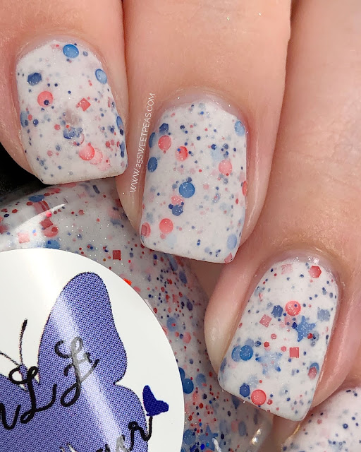 MLF Lacquer Bless the USA 25 Sweetpeas
