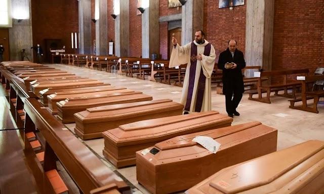 Número de mortos na Itália ultrapassa 10 mil; infectados já são mais de 92 mil