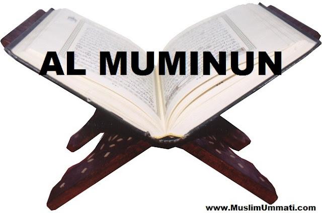 23 Surah Al Muminun