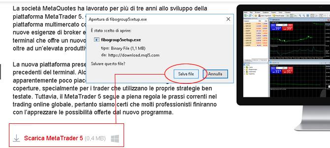 software gratis per Forex trading