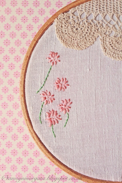 Craft Project-Embroidery Hoop
