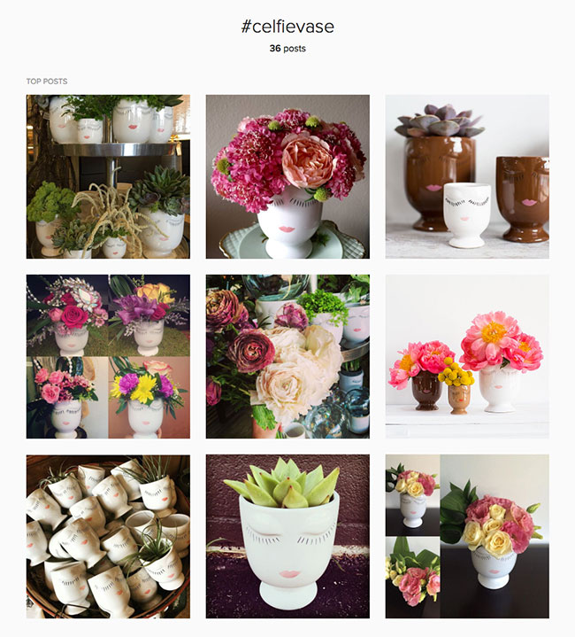 want to take some celfies of your own join the party on instagram with celfievase - Accent Decor