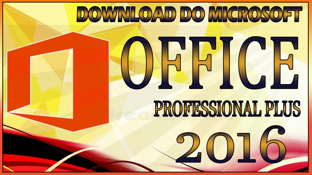 download office 2016 completo português + ativador