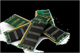 Gambar komponen Komputer (RAM)