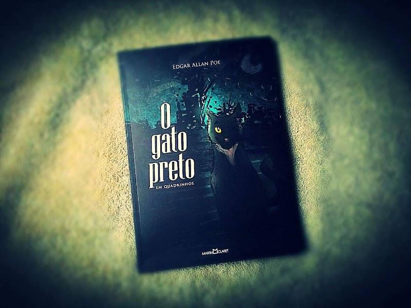 [RESENHA #227] O GATO PRETO - EDGAR ALLAN POE