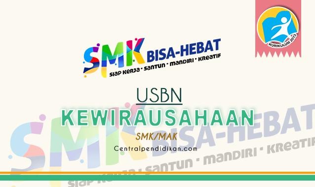 Contoh Soal USBN PKWU SMK dan Jawaban