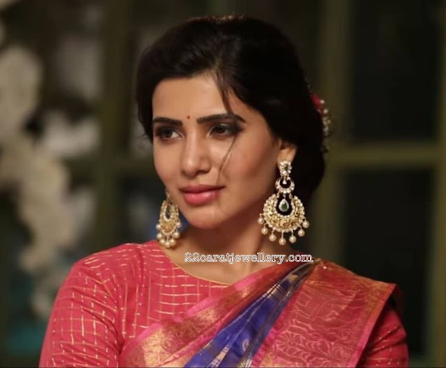 Samantha Huge Antique Chandbalis