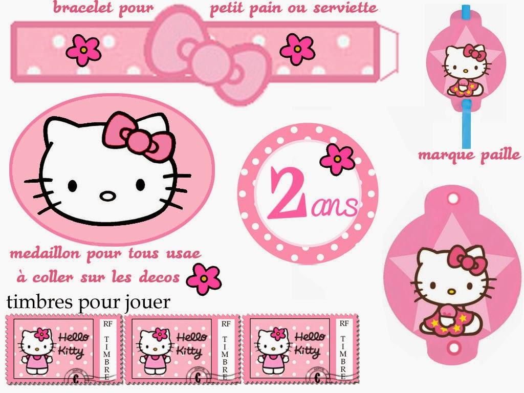 Hello Kitty Free Printable Kit