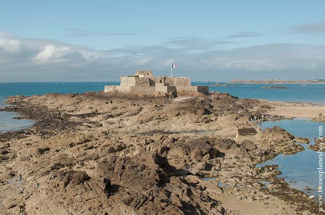 Fort du Petit Bé.Saint Malo viaje monumentos que ver Bretaña