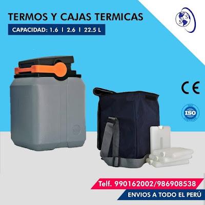anuncio termos kst vacunas gris cajas termicas tapa negra asa anaranjada mochila numero telefono plomo